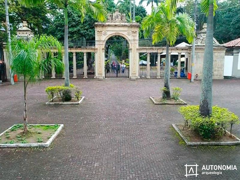 Autonomia Arqueologia Realiza Vistoria No Portão Monumental Do Jardim Zoológico Do Rio